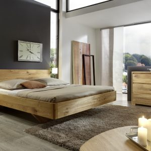 massief houten bed teun