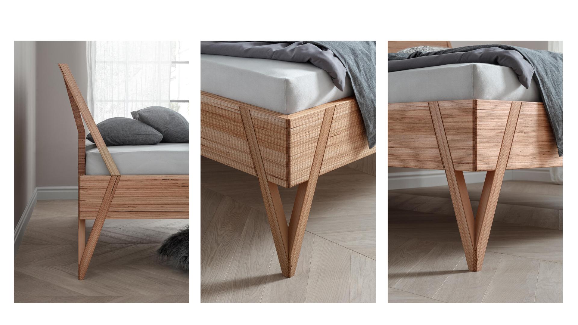 Bed Viva, details