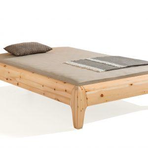Bed Gonda, massief houten bed, ecologisch, biologisch, duurzaam,